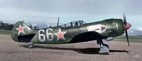 Aviones soviéticos de la 2da Guerra Mundial, a color ...