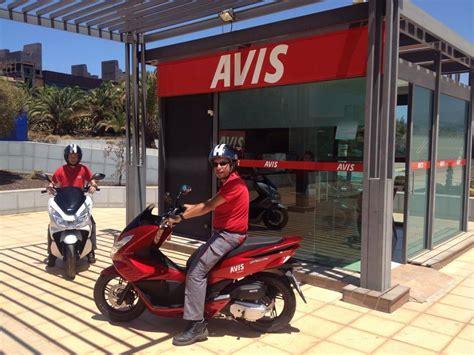 Avis Canarias incorpora Scooters Honda a su flota de ...