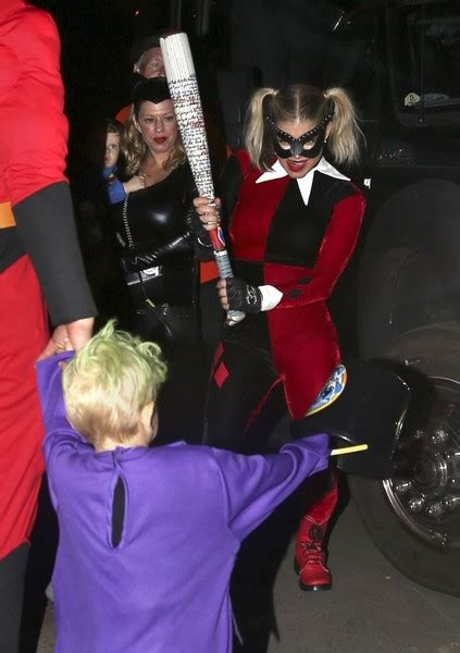 Axl Jack Duhamel Photos Photos   Fergie Trick Or Treating ...