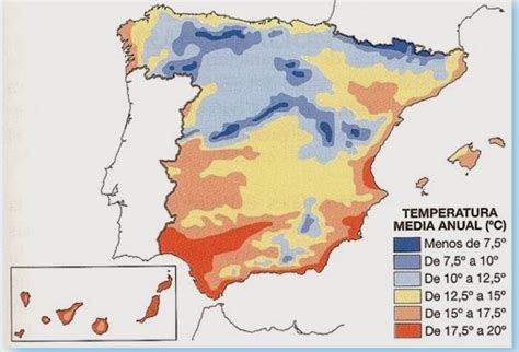 Ayuda y organización: Comentario mapa temperaturas
