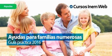 Ayudas Para Familias Numerosas - provporcreditos