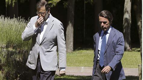 Aznar y Rajoy evitan hablar sobre las últimas revelaciones ...