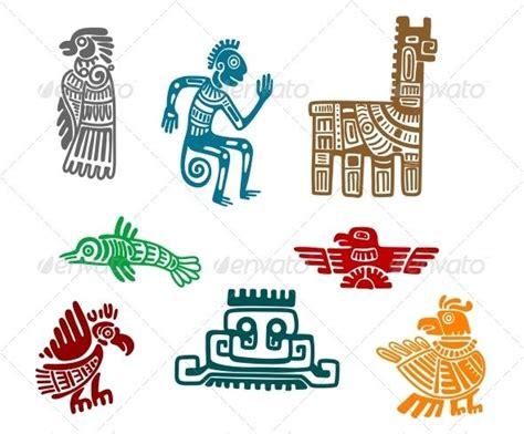Aztec and Maya Ancient Drawings | Belize, Maya and Mexico