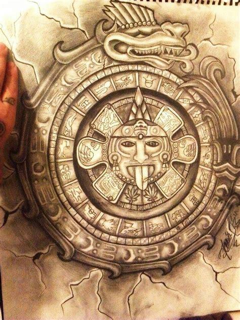 Aztec calendar | Mayan/Aztec tattoos | Pinterest ...