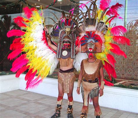 Aztec Costumes | The Mayan Culture Today and Tomorrow ...
