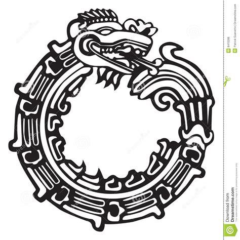 Aztec Maya Dragon - Great For Tatto Art Stock Vector ...