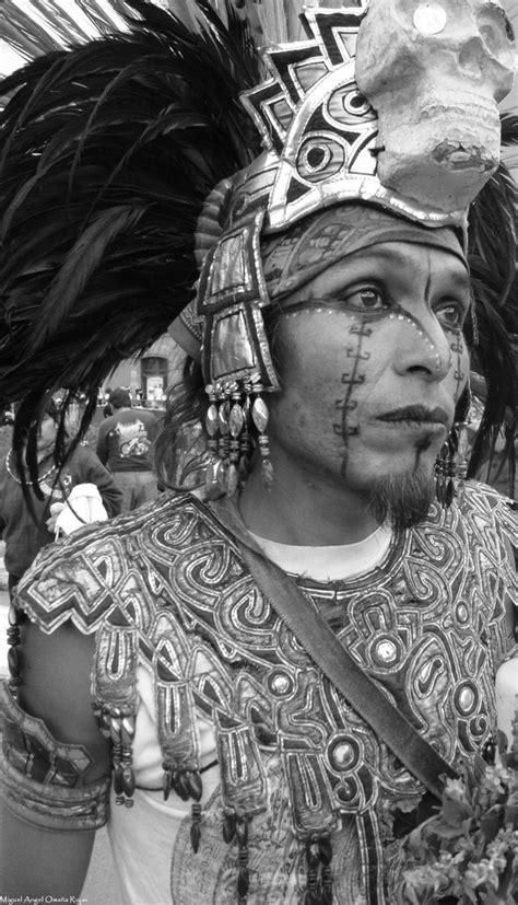 Aztec Mexica Warrior   Guerrero Azteca Mexica by photo ...