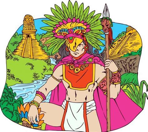 Aztecas dibujos animados - Imagui