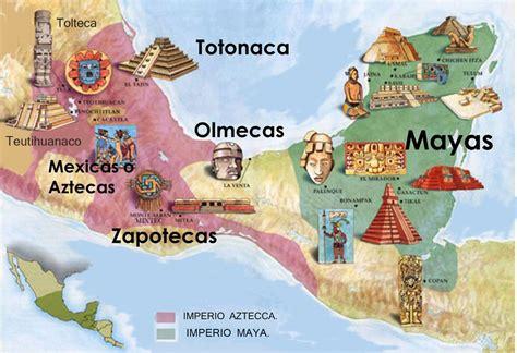 Aztecas y Mayas - Diferencias principales