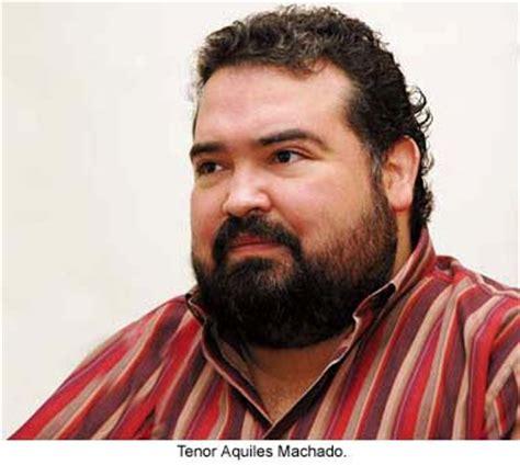Azul Fortaleza: Tenor Aquiles Machado: Quien no se levanta ...