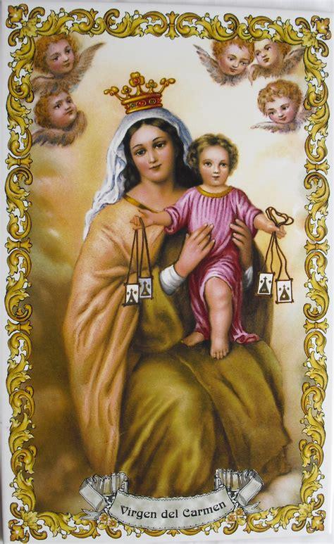Azulejo Virgen del Carmen - RUSTILUZ
