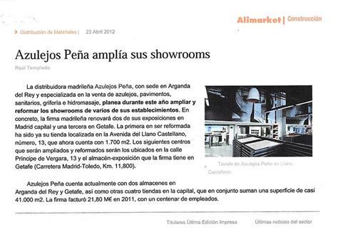 Azulejos Peña amplía sus showrooms | Azulejos Peña