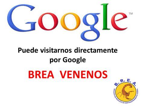 B.R.E.A. VENENOS: Vísitenos directamente por Google: BREA ...