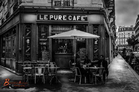 B&W Le Pure Cafe | Michael Wilson -Content Creator