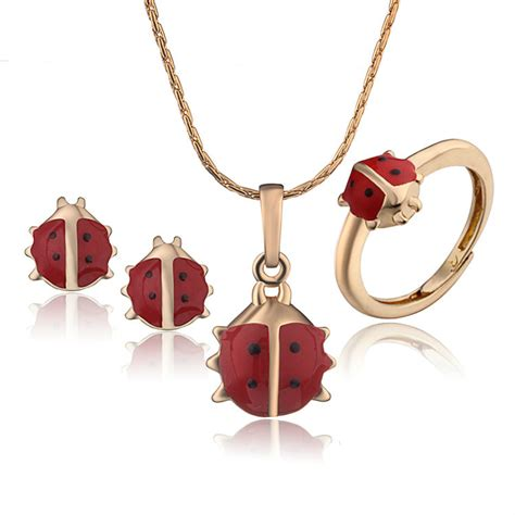 Baby Girls Jewelry Sets Children Gifts 18K Gold Plated ...