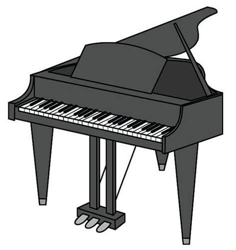 Baby Grand Piano Clip Art – Free Cliparts