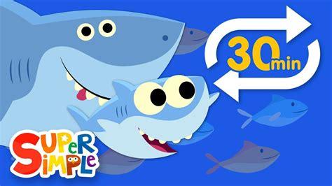 Baby Shark (Extended Mix - 30 Mins!) | Kids Songs | Super ...