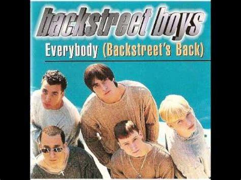 Backstreet boys Everybody  Backstreet s back  harmony ...