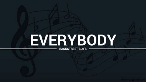Backstreet Boys   Everybody  lyrics, karaoke, cover    YouTube