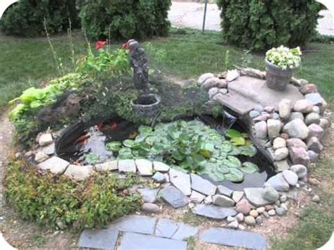 BACKYARD FISH PONDS A HOW TO - YouTube