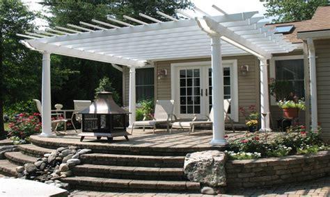 Backyard patio cover designs, patio pergola ideas raised ...
