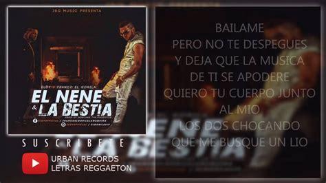 Bailame - Eloy (LETRA) - YouTube