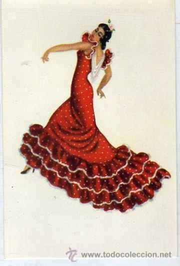 bailaora flamenca. dibujo de mª rosa bendala. g   Comprar ...