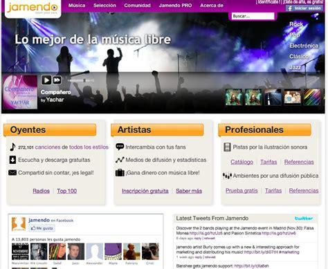 Bajar música legal gratis con Jamendo.com ...