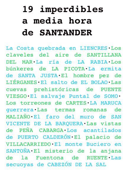 Bájate el ebook  19 imperdibles a media hora de Santander ...