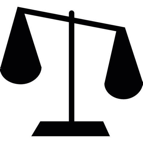 Balanza de justicia - Iconos gratis de signos