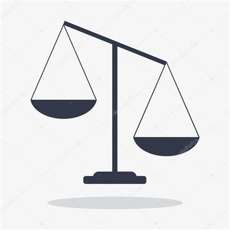 Balanza de la justicia — Archivo Imágenes Vectoriales ...