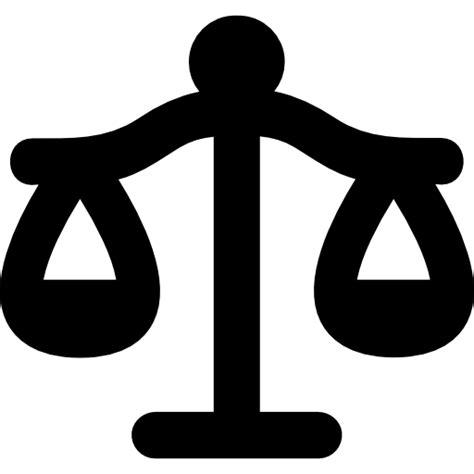 Balanza equilibrada de Libra de la justicia - Iconos ...