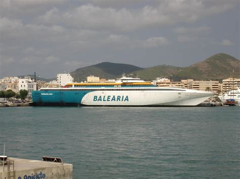 Balearia Boat   Photo at ibiza tourism