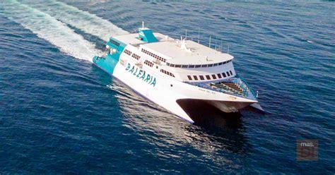 Baleària, más servicios 'fast ferry' para conectar Ibiza y ...