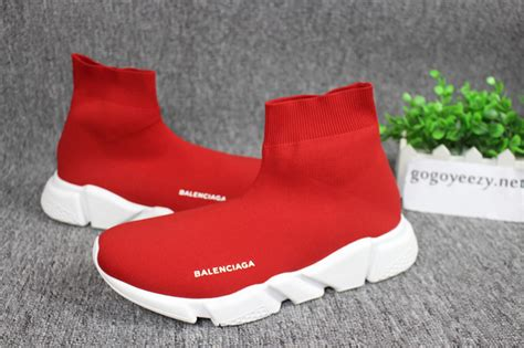Balenciaga Speed Trainer Sock Race Runners Kint Red ...