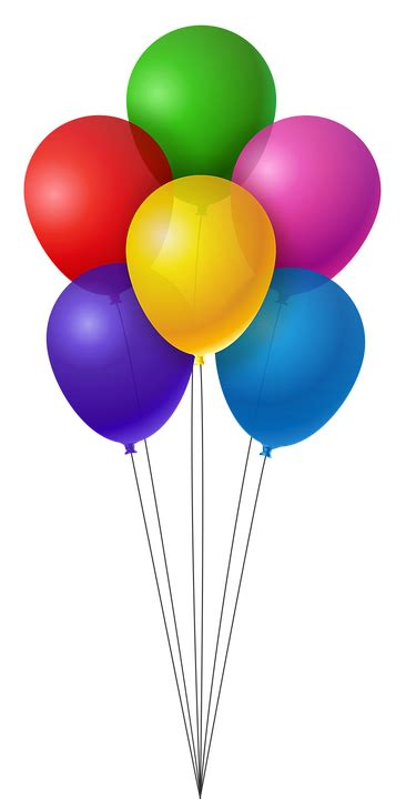 Balloons Colorful Birthday · Free image on Pixabay