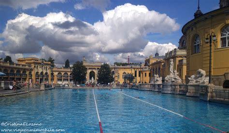Balneario Széchenyi, un spa low cost para darse un ...