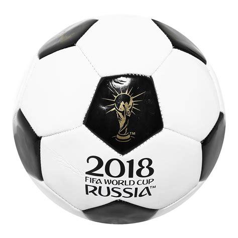 Balón Conmemorativo Mundial Rusia 2018 Blanco con Negro ...