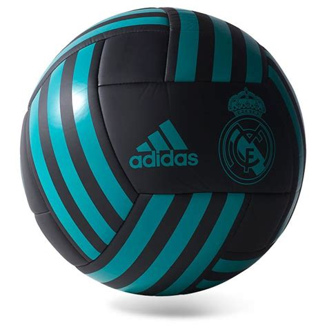Balón de Fútbol 11 Real Madrid 2017/2018 Negro