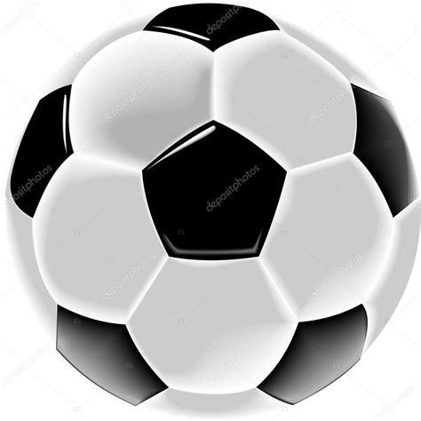 balón de fútbol blanco y negro o fútbol — Foto de stock ...