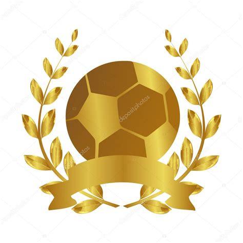 Balón de oro. Un jugador de fútbol profesional. Fútbol ...