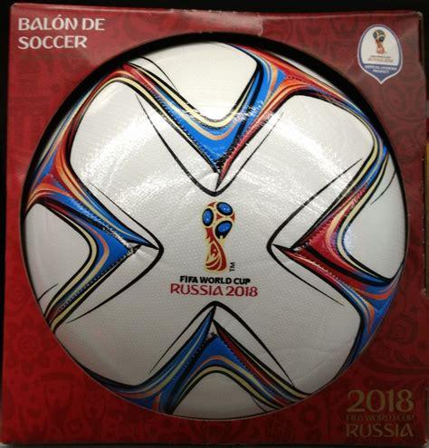 Balon Futbol Tamaño 5 Mundial Rusia 2018 Color Blanco ...