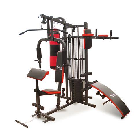 Banca de Pesas Estación de Fitness Ejercicios Multi Gym ...