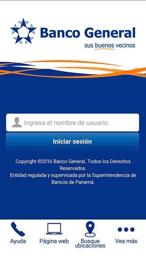Banca Móvil de Banco General - Aplicaciones Android en ...