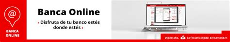 Banca Online para Particulares   Banco Santander