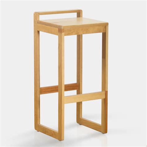 Banco alto de madera: Go. ideal para la desayunar en la ...