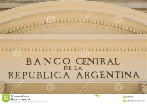 Banco central de Argentina fotografia editorial. Imagem de ...