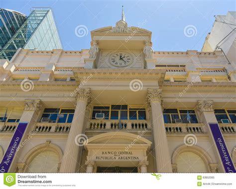 Banco central de Argentina imagem editorial. Imagem de ...
