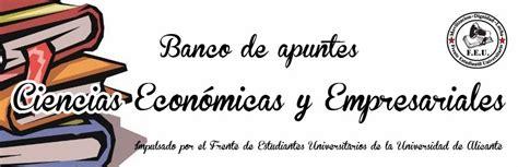 Banco de Apuntes de la Facultad de Ciencias Económicas y ...