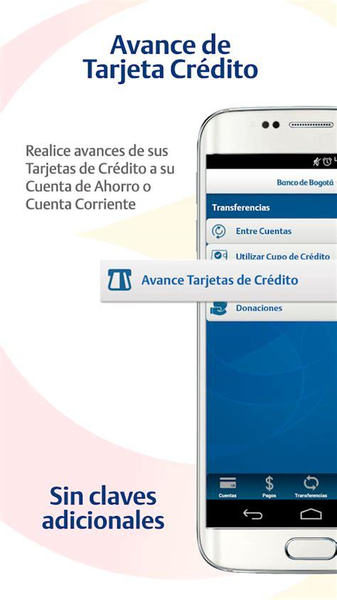Banco De Bogota Tarjeta De Credito Transacciones